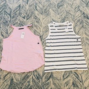 A lot of 2 New Abercrombie & Fitch tank tops